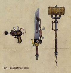 Steampunk Weapon Tutorial - lots of great details on how to take a cheap toy gun and mod it into a really cool steampunk prop. Description from pinterest.com. I searched for this on bing.com/images