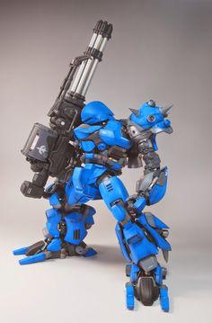 "MG 1/100 Kampfer ""Orazaku"" Custom Build - Gundam Kits Collection News and Reviews"