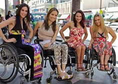 """Push Girls! I really like this show because I think it is opening society's eyes to the truth disabled people live """"normal"""" lives."""