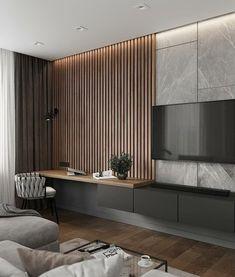 Home Inspiration // Loft Interior Loft Interior, Interior Modern, Living Room Interior, Home Living Room, Home Interior Design, Tv Wall Ideas Living Room, Modern Luxury Bedroom, Modern Master Bedroom, Interior Sketch