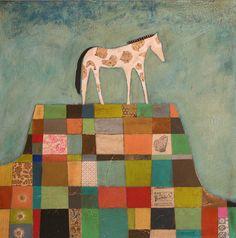 "More equine art inspirations & gallery StajniaSztuki.pl ""Mesa"", Leslie Barron"