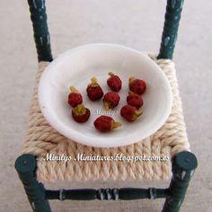 Minilys Miniatures: food paprika. Fimo. 1:12