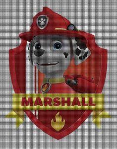 Paw Patrol - Marshall Crochet Pattern