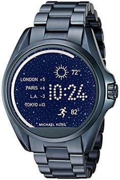 Michael Kors Access Touch Screen Blue Bradshaw Smartwatch MKT5006 * Click on the image for additional details.