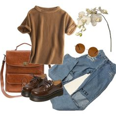 A fashion look from February 2016 featuring Calypso St. Barth sweaters, WithChic oxfords and Folio handbags. Browse and shop related looks.