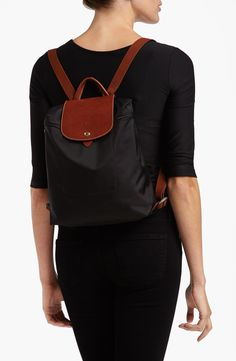 Longchamp 'Le Pliage' Backpack black or brown