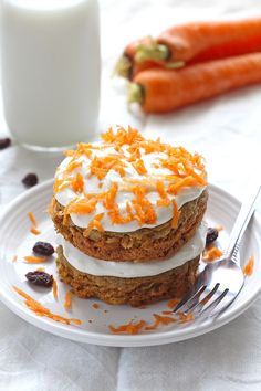 Single Serve Carrot Cake - This gluten-free Single Serve Carrot Cake is the perfect size for one – or two if you dare to share!