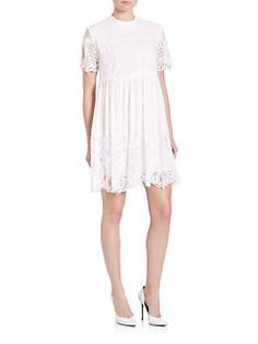 Kendall + Kylie - Lace Babydoll Dress