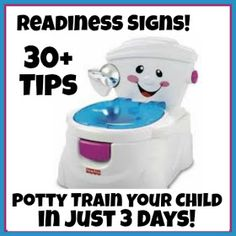How I potty Trained my Daughter in 3 Days!