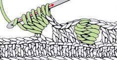 Novel Crochet Stitches Tutorial
