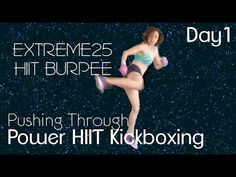25 Min. HIIT Burpees Kickboxing Workout - YouTube