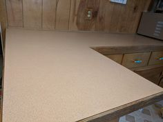 How to Paint Your Countertops Like Granite • Mama and More Painting Laminate Countertops, Cheap Countertops, Craft Room Storage, Paper Storage, Craft Organization, Maplewood Kitchen, Countertop Makeover, Kitchen Tops, Kitchen Counters