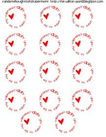valentine play doh