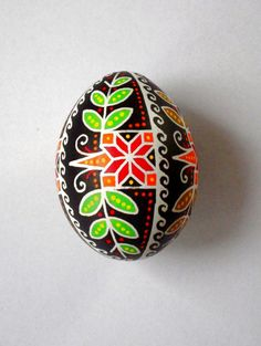Ukrainian Pysanka Easter Egg FREE Shipping by EggArtBoutique