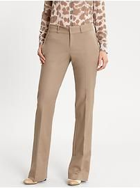 I love banana republic martin fit pants - I could use this color