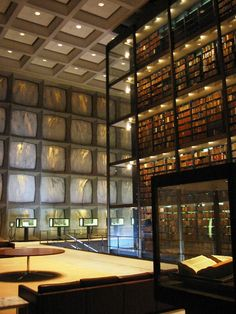 Beinecke Rare Book and Manuscript Library Skidmore, Owings, & Merrill.