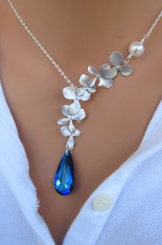MOTHERS DAY SALE Peacock and Orchids sterling by RoyalGoldGifts