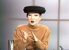 WEEKEND OBSESSIONS: THE STYLE AND MUSIC OF 80'S JAPANESE SINGER & ECCENTRIC, MEGUMI SATSU.