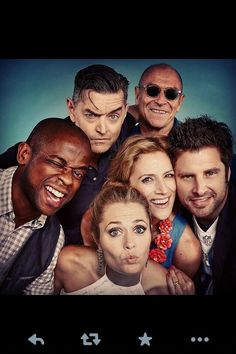 Psych at comic con