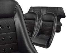 Kit siège et housse arrière complet austin mini retro classic noir