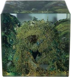 Dustin Yellin, Zulu Cave No. 2, 2013 on Paddle8