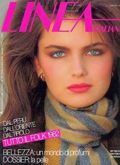 PAULINA PORIZKOVA Linea Italia Cover 1982