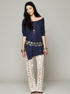 Jens Pirate Booty Santos Lace Flare http://www.freepeople.com/whats-new/santos-lace-flare/