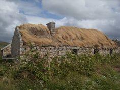 Gaelic part of Connemara, Ireland