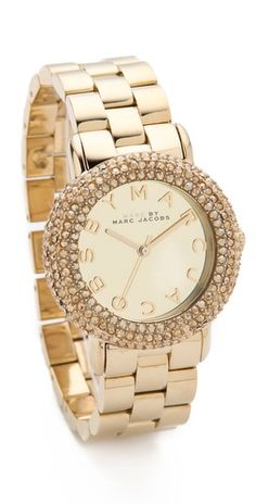 Marc by Marc Jacobs Marci Pave Watch | SHOPBOP