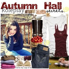 """Autumn Hall; Roleplay"" by ariadne-stealingkisses on Polyvore"