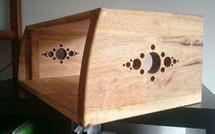 4U Studio Rack - Wengea Solid Wood