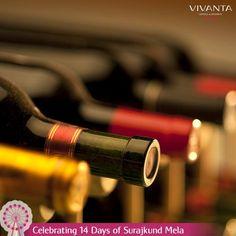 #Day2 A hideout that gets you high!  Come taste Di - Wine at Vivanta by Taj - Surajkund! #SurajkundMela #Art #Culture #India #Delhi #Carnival #Festival  Know more: http://on.fb.me/1ztW38e