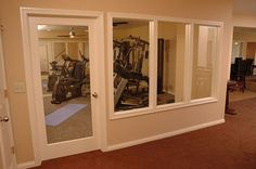 fitness rooms in basement - Yahoo Image Search Results