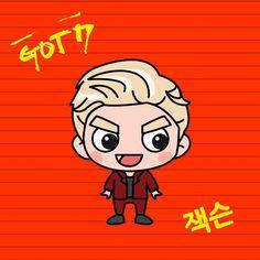 #GOTOON #MAD #Jaclson Got7 Fanart, Twice Fanart, Jackson Wang, Chibi, Mad, Doodles, Fan Art, Kpop, Cartoon