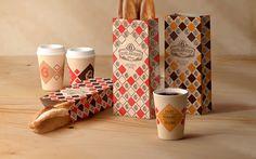 Sacs Papier Boulangerie sur l'emballage du Monde - Creative Package Design Gallery
