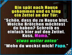 Ich glaub, Mama hat mich etwas lieber ^^'  Lustige Sprüche / Lustige Bilder #Humor #Sprüche #lustig #1jux #lustigeBilder #lustigeSprüche #Eltern #Mama #Mutter #Kinderliebe #feiern