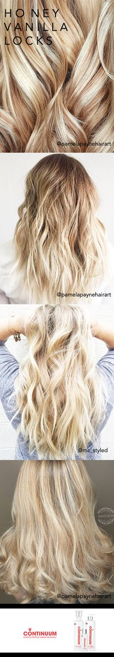 H O N EY & V A N I L L A #hair #hairgoals #braids #inspo #hairinspo #hairstyles #blondes #blondehair #platinumhair #highlights #curlyhair #longhair