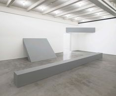 "Installation view of ""Robert Morris,"" 2016, at Dia:Beacon. BILL JACOBSON"