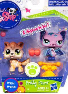 LPS Pretty Pairs: Littlest Pet Shop Collectibles