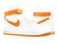 the best attitude c70ca 23372 Nike Mens NIKE AIR FORCE 1 HIGH 07 BASKETBALL SHOES 12 (WHITEVIVID