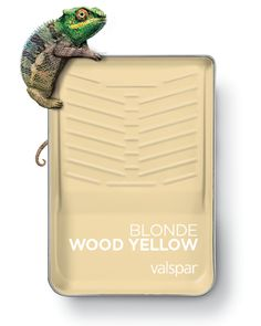 One of 12 Valspar 2019 Colors of the Year: Blonde Wood Yellow Available as: Homey Cream at Lowe's Glow Home at Ace Glow Home at independent retailers Lowes Paint Colors, Valspar Paint Colors, Yellow Paint Colors, Neutral Paint Colors, Kitchen Paint Colors, Room Paint Colors, Yellow Painting, Wall Colors, House Colors