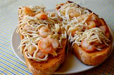 My Favorite Food, Favorite Recipes, Spanish Cuisine, Canapes, Bruschetta, Food And Drink, Menu, Ethnic Recipes, Relleno