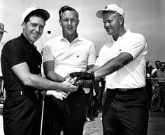 Golf School Masters Jack Nicklaus, Arnold Palmer and Gary Player Rip Our Residential Golf Lessons are for beginners, Intermediate