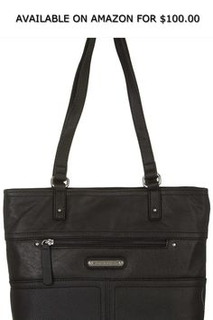 eda5dd86fbdd Women s Shoes · Stone Mountain Metro Shopper Tote Handbag One Size Black ◇  AVAILABLE ON AMAZON FOR   100.00