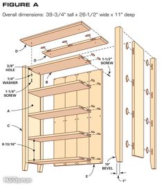 Simple Bookcase Plans
