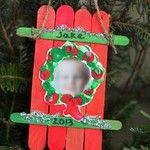 Personalized sled  ornaments #ece #preschool #familychildcare #ontheblog Thingstoshareandremember.com