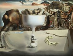 Apparition of a Face: 1938 by Salvador Dali (Wadsworth Atheneum, Hartford, CT) - Surrealism