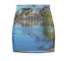 Peaceful Lake Weeroona - Bendigo, Victoria Pencil Skirt