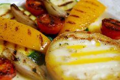 Kozidymek i warzywa z grilla #cheese #recipe #polish