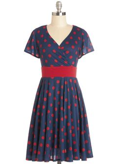 Feeling Footloose Dress in Navy. #modcloth